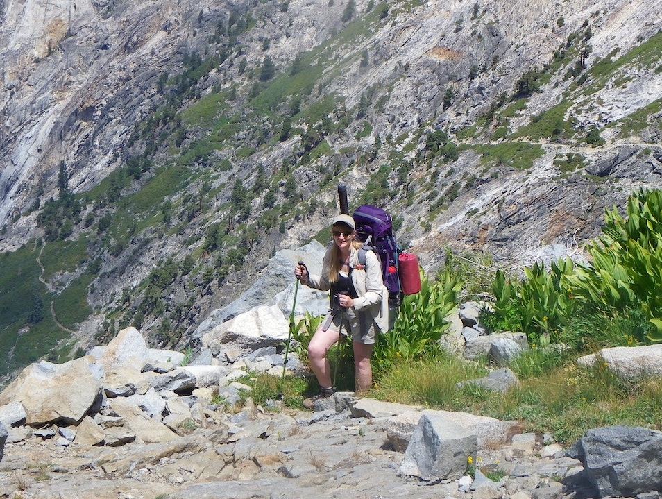 Backpacking the High Sierra Trail in Sequoia National Park