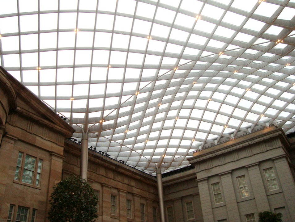Architectural Courtyard Wonder Washington, D.C. District of Columbia United States