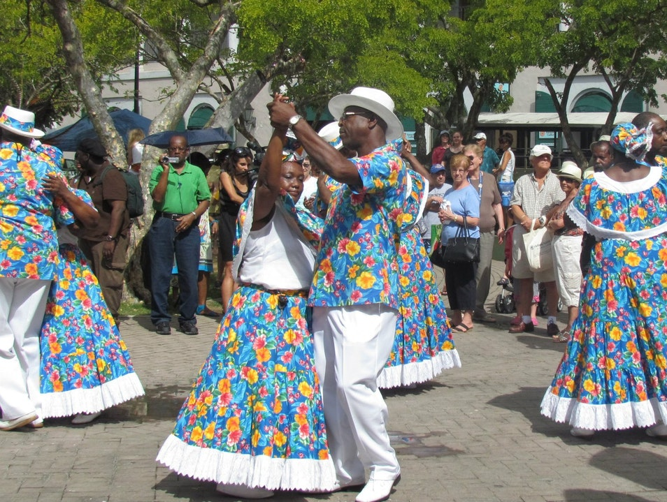 Learn How to Dance Quadrille at Emancipation Gardens, St. Thomas Charlotte Amalie  United States Virgin Islands