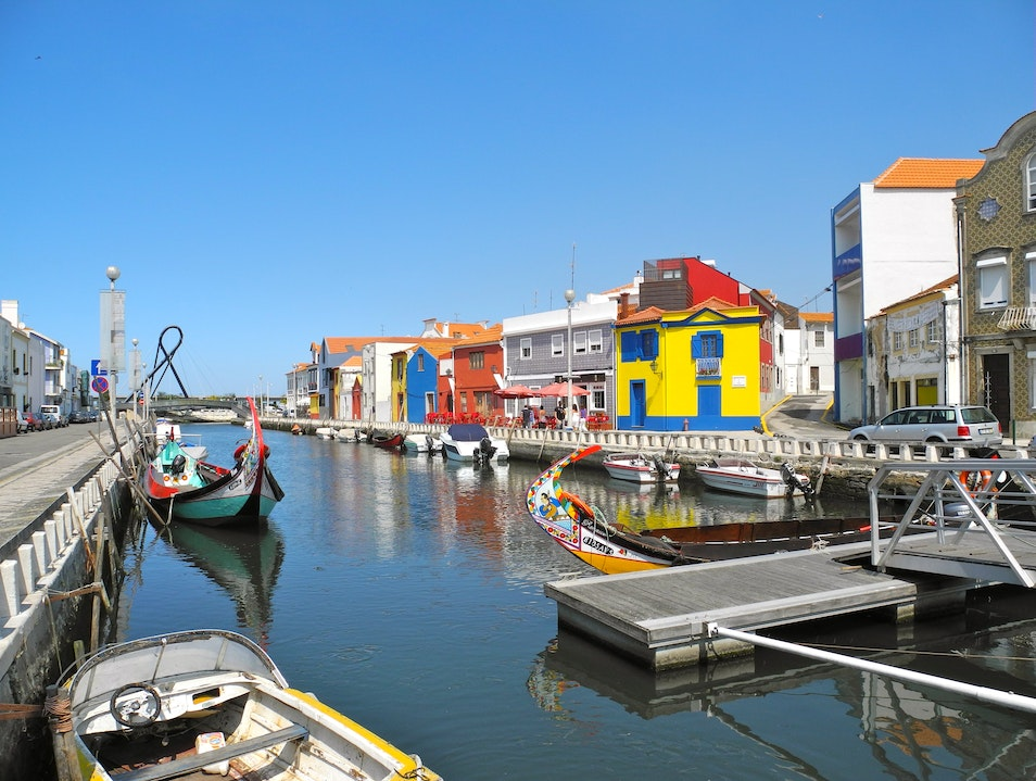 Aveiro's Restaurants and Canals Aveiro  Portugal