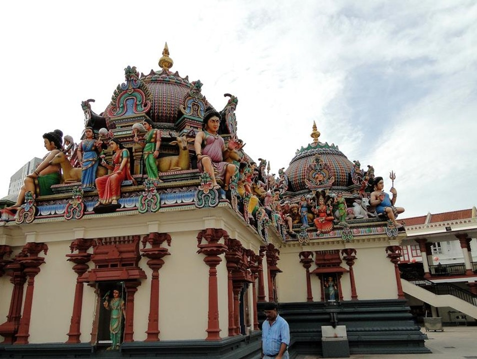 Sri Mariamman Temple in Singapore's Chinatown Singapore  Singapore