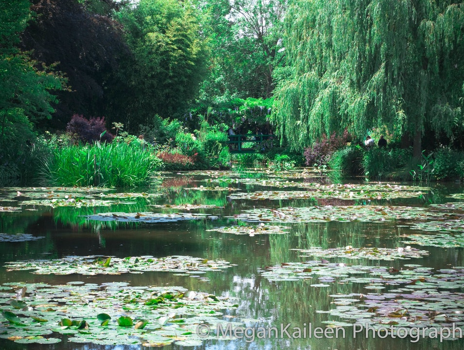 Living in a painting Giverny  France