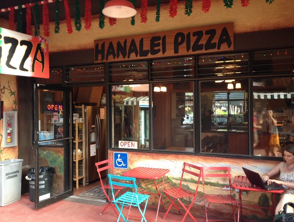 Flatcrust Pizza - Kauai Style Hanalei Hawaii United States