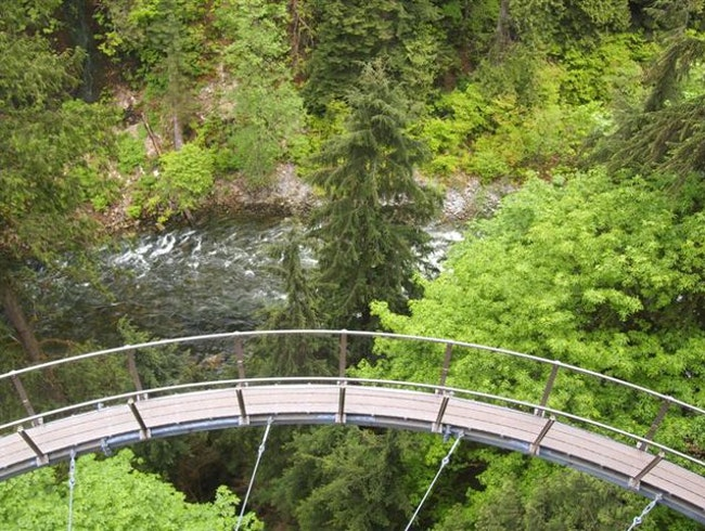 For Thrill Seekers: Capilano's Cliff Walk in Vancouver