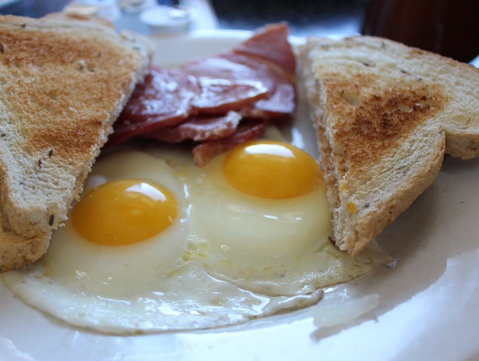Enjoy a Hearty Country Breakfast at Nick & Ivy's Country Diner Curran Michigan United States