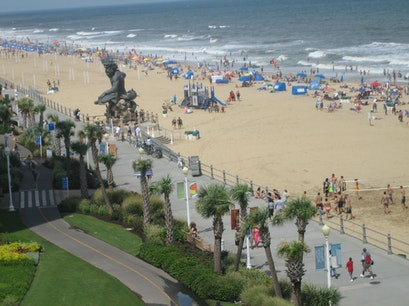 Virginia Beach Boardwalk Virginia Beach Virginia United States