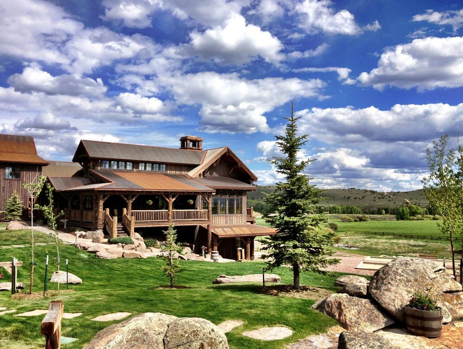The Main Lodge at Brush Creek Ranch, Wyoming Saratoga Wyoming United States