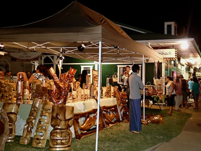 Eat, Walk, Love Art at Kapa'a First Saturday Art Walk