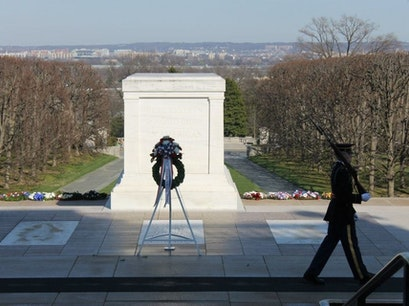 Tomb of the Unknown Soldier  Arlington Virginia United States