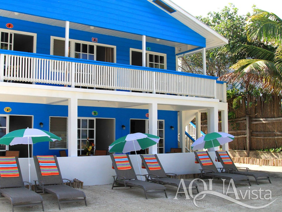 Stay at Aqua Vista Beachfront Suites San Pedro  Belize