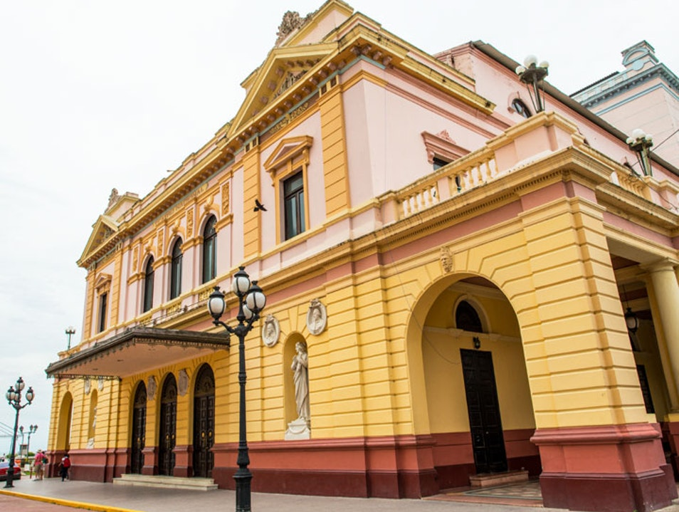 Teatro Nacional (National Theater) Panama City  Panama