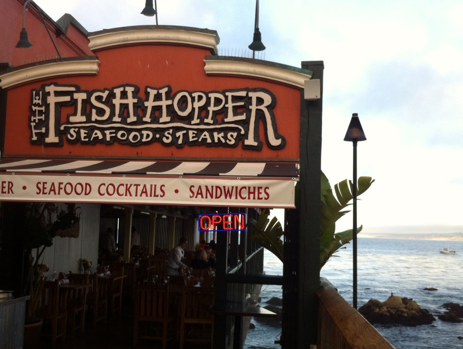 seafood with a view Monterey California United States