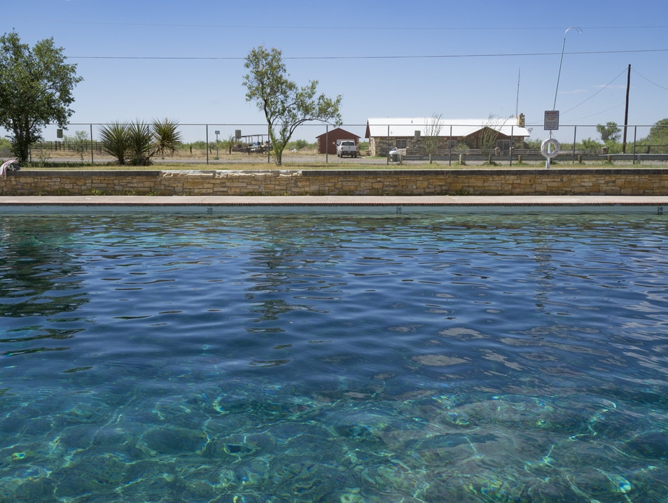 Take a Dip in the Desert Balmorhea Texas United States