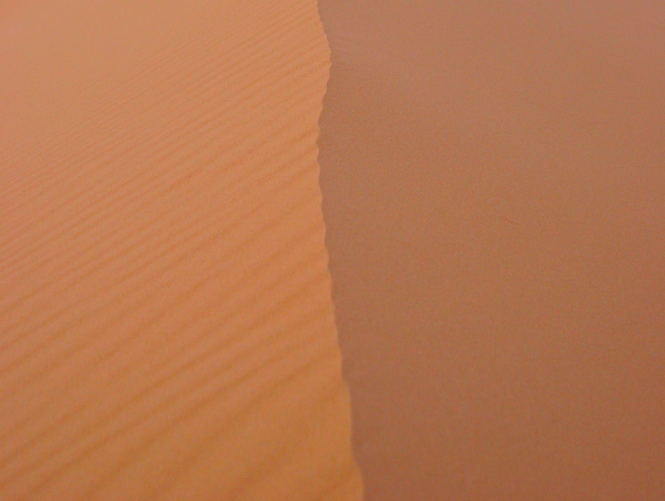 600 Foot dune.  Dawn. Erfoud  Morocco