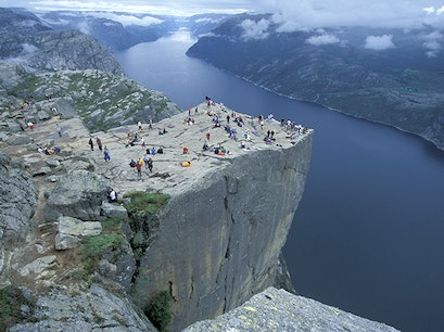 Pulpit Rock Forsand  Norway