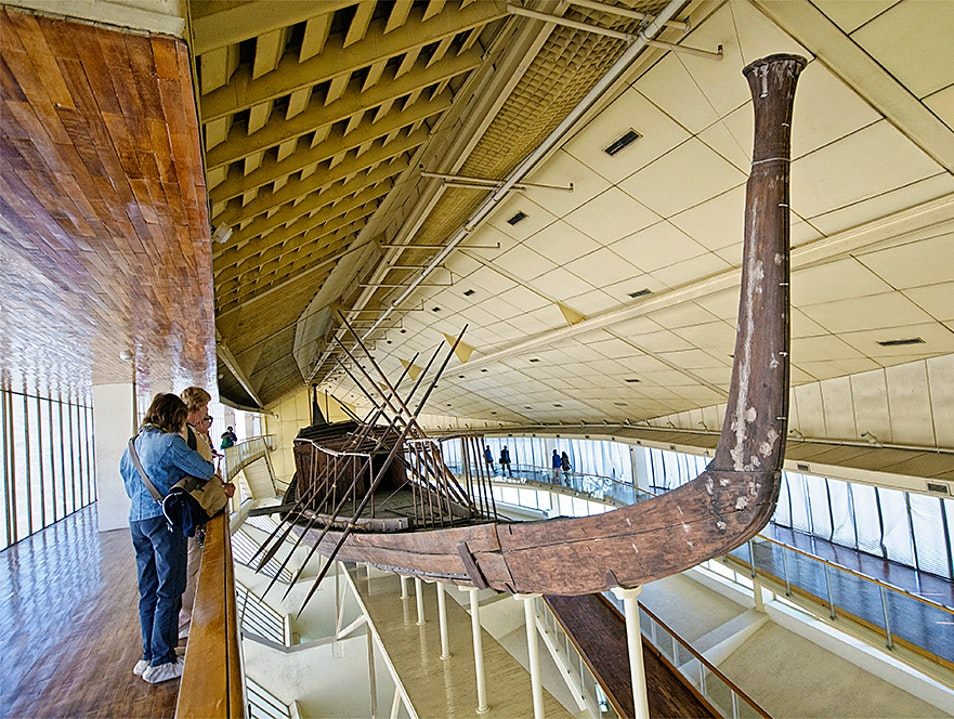 Sail to the Sun at the Cheops Boat Museum