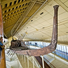 Khufu Ship at Cheops Boat Museum