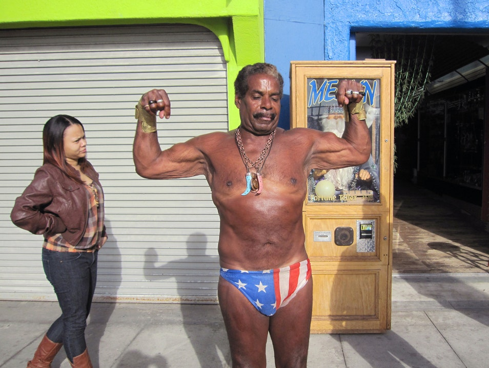 Muscle Beach Los Angeles California United States