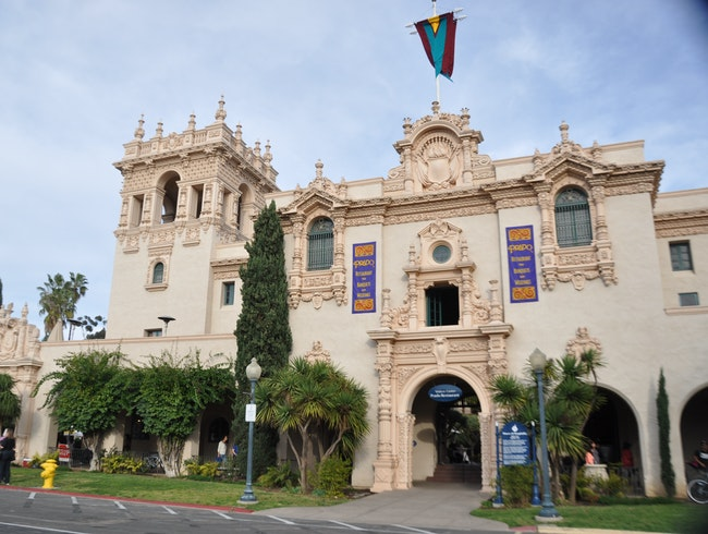 Photo safari around Balboa Park this afternoon