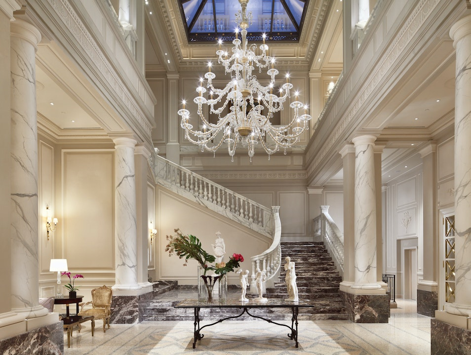 Palazzo Parigi Is All Luxury Milan  Italy