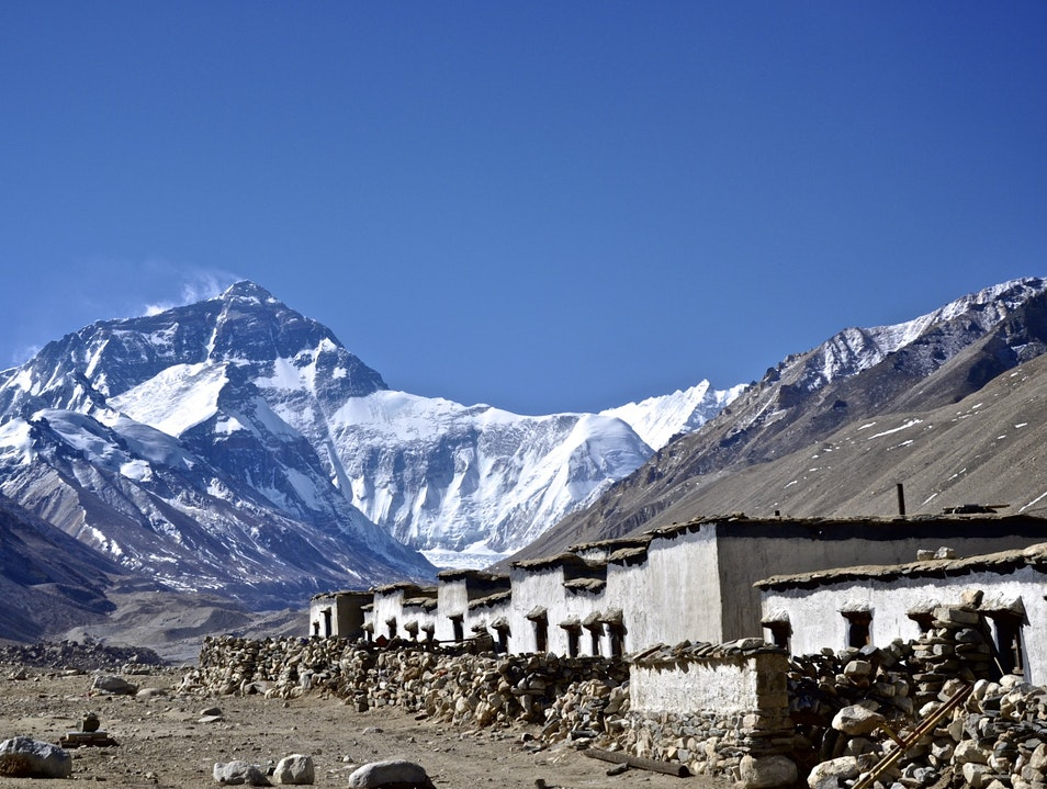 Mount Everest - the top of the world Khumjung  Nepal