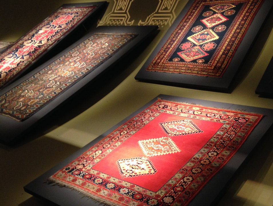 Take a magic ride at the Carpet Museum Baku  Azerbaijan