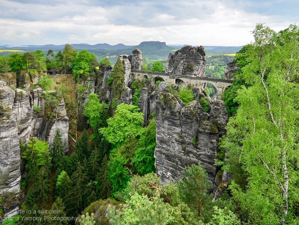 The Grand Canyon of Germany  Lohmen  Germany