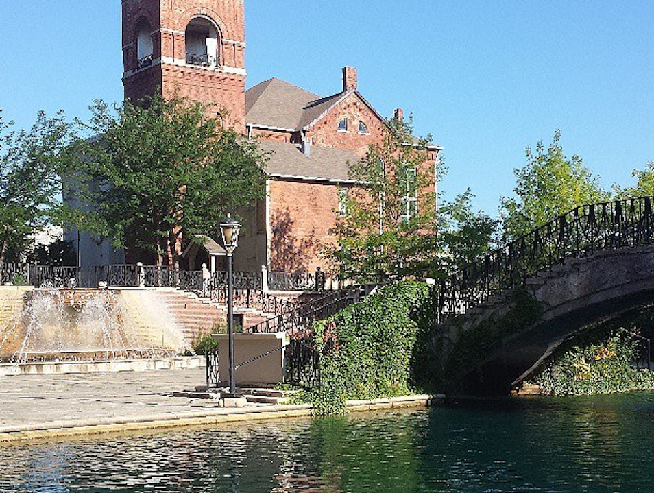 Running Route: Indianapolis Canal Walk Indianapolis Indiana United States