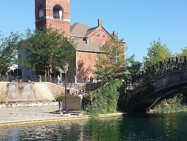 Running Route: Indianapolis Canal Walk