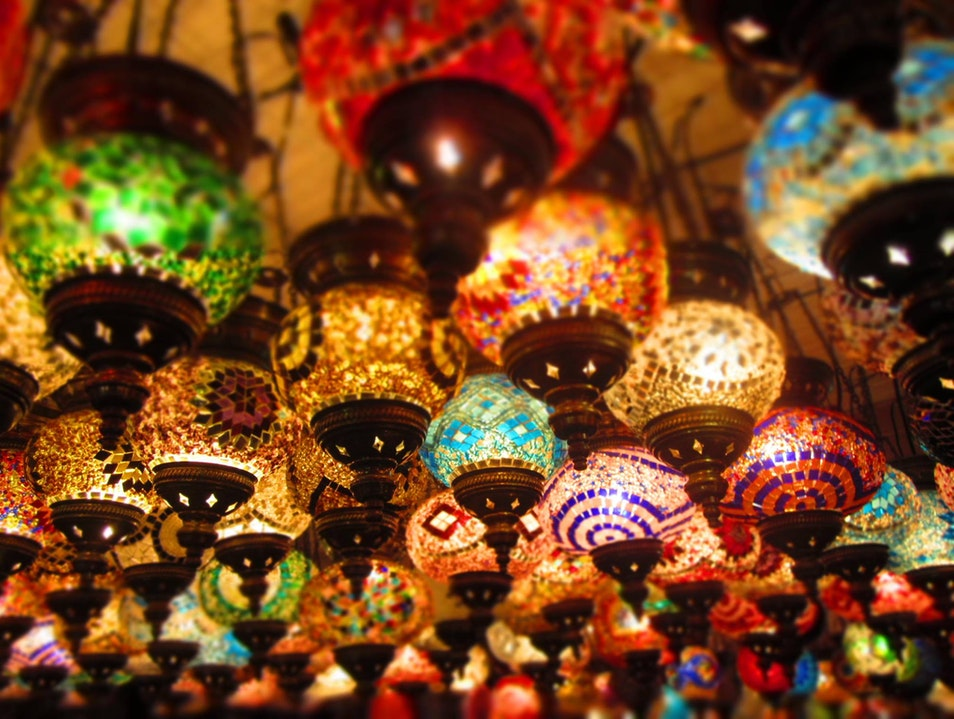 Turkish Lamps Istanbul  Turkey