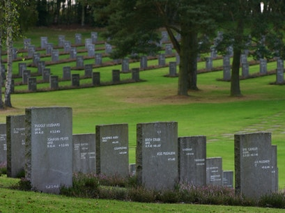 Cannock Chase German War Cemetery Cannock  United Kingdom