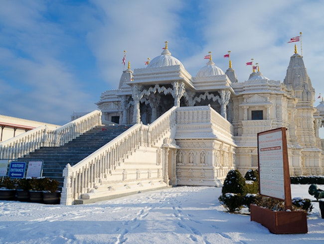 Experience peace and tranquility at Canada's largest Hindu temple
