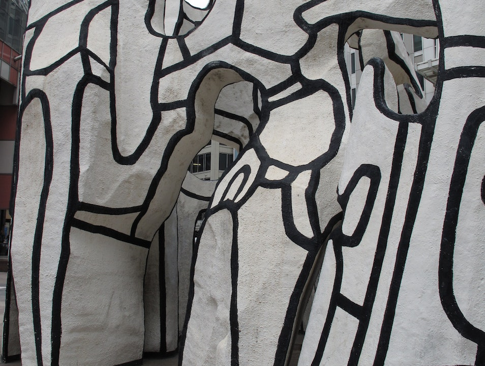 Dubuffet's Monument with Standing Beast Chicago Illinois United States