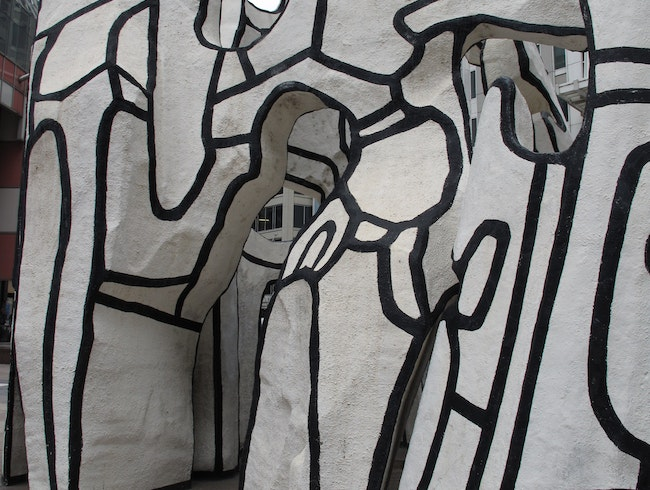 Dubuffet's Monument with Standing Beast