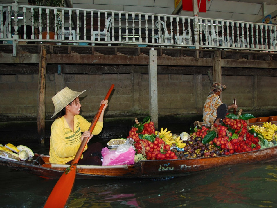 Floating Market Tha Nat  Thailand