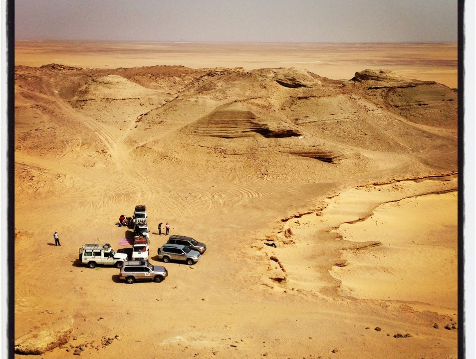 Where the Sand and Sky Collide: An Overnight Stay in the Desert of Fayoum