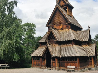 Norwegian Folk Museum Oslo  Norway