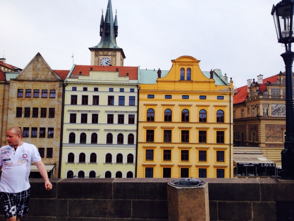 Charming Czech Architecture in Kampa