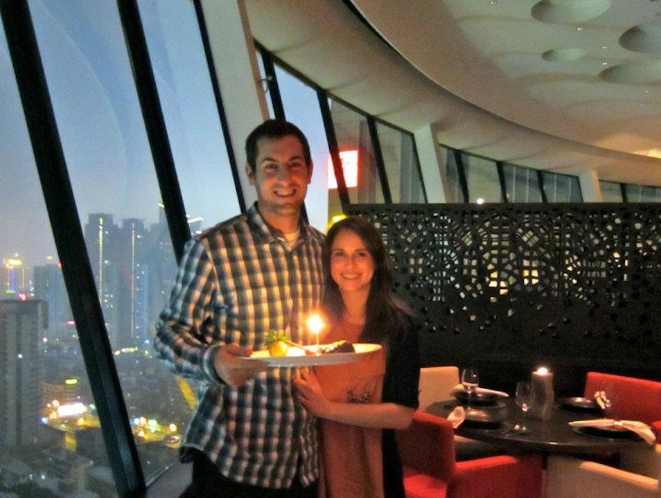 Celebrating a Birthday in Style at 360°