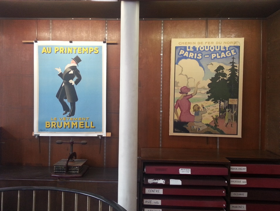 Museum-Quality Vintage Posters Paris  France
