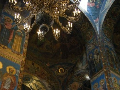 Church of Our Savior on the Spilled Blood Saint Petersburg  Russia