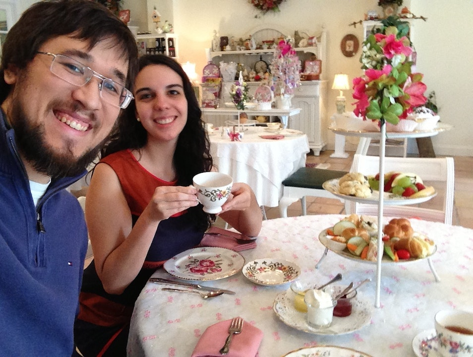 High Tea in a Quaint Town Madison Georgia United States