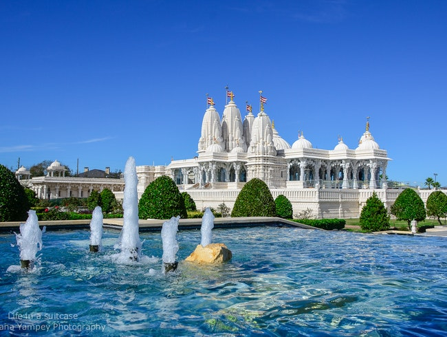 Hindu Mandir in Houston