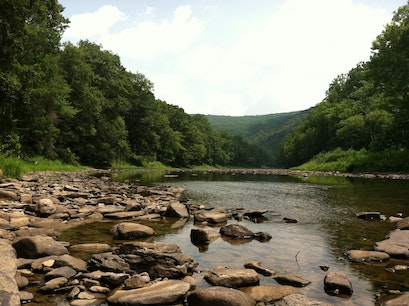 Greenbrier River, WV Hinton West Virginia United States