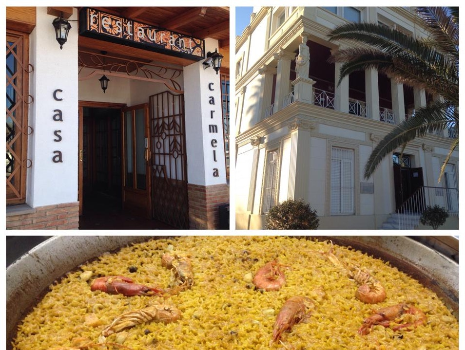 Eat Paella at Casa Carmela in Valencia  Valencia  Spain