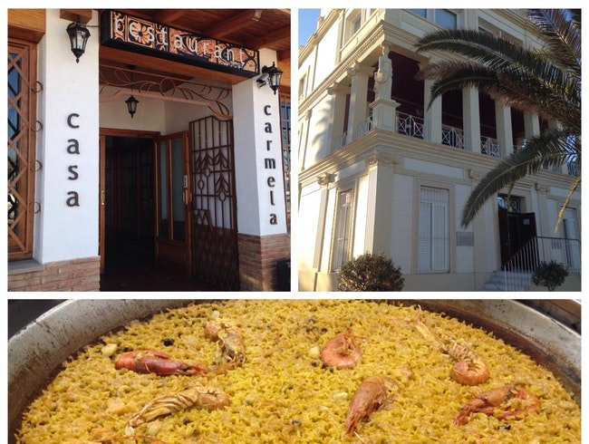 Eat Paella at Casa Carmela in Valencia