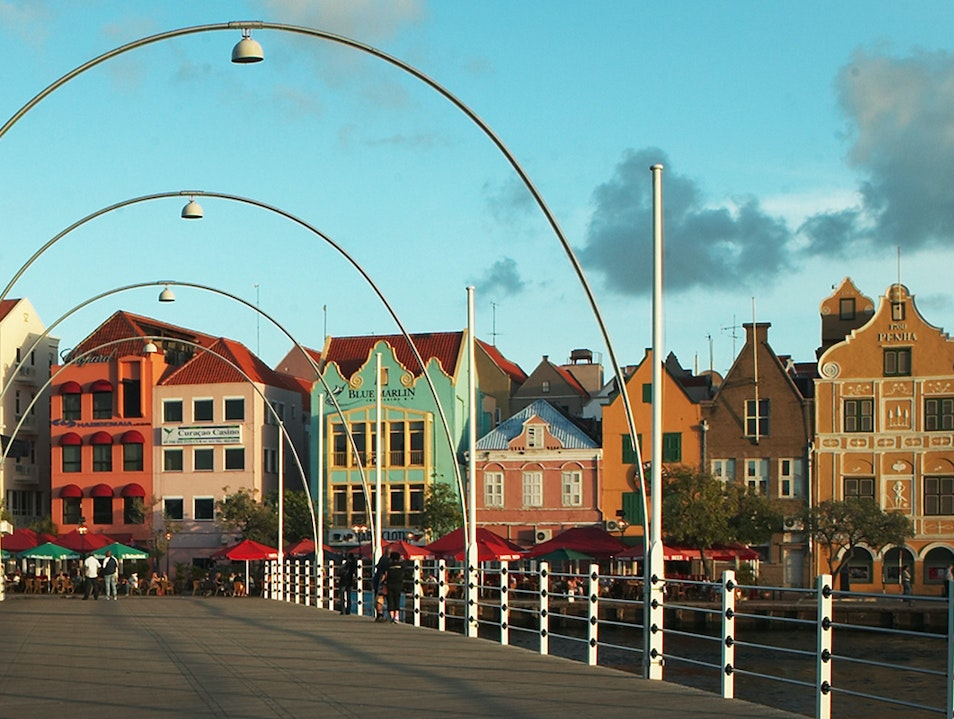 Koningin Emma Bridge Willemstad  Curaçao