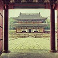 Changdeokgung Seoul  South Korea