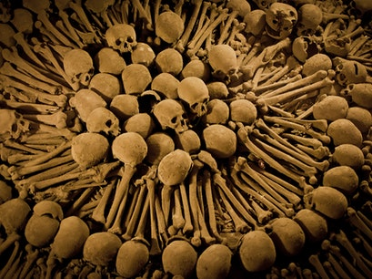 Catacombs at the Catedral de Lima Lima  Peru