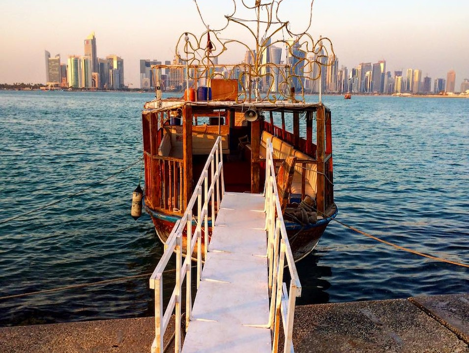 Going on a cruise, Qatar Style